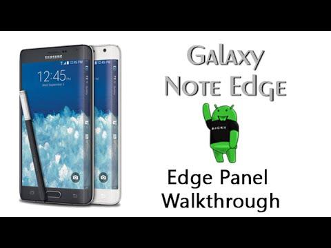 Edge Panel Walkthrough on the Galaxy Note Edgeиз YouTube · Длительность: 5 мин