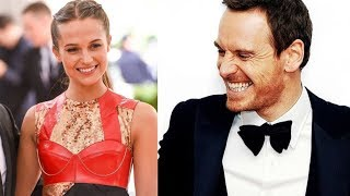Alicia Vikander and Michael Fassbender's Lovely Moments: 2017