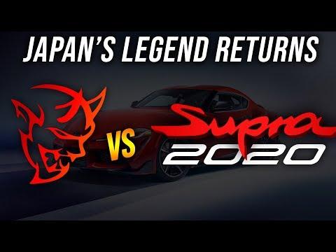 A LEGEND RETURNS! 2020 Toyota SUPRA Vs Dodge Demon (both Modded) 1/4 Mile DRAG RACE   Demonology