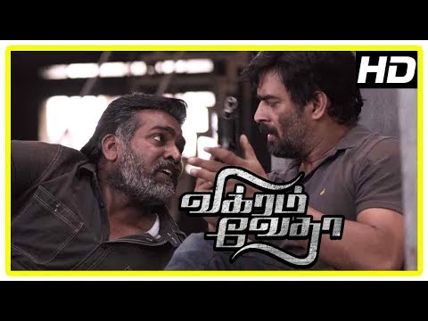 Vikram Vedha Movie Climax | Madhavan And Vijay Sethupathi Learn The Truth | End Credits