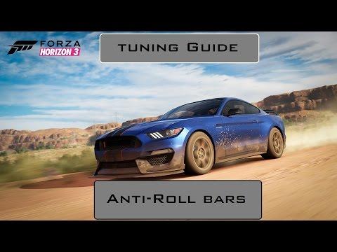 Forza Horizon 3 Tuning Guide : Anti-Roll Bars