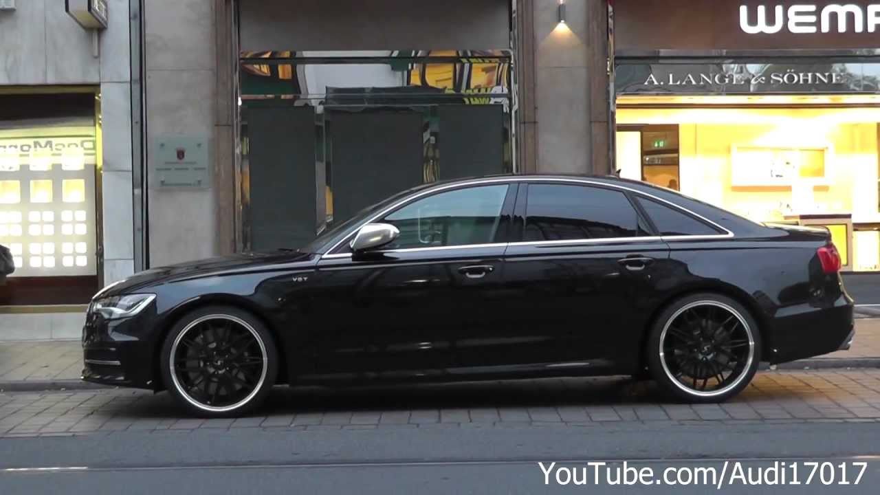 2013 Audi S6 Black Full Hd Youtube