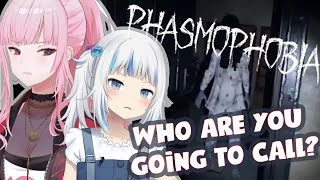 【PHASMOPHOBIA COLLAB】We Love To Not Be Alive.  #hololiveEnglish