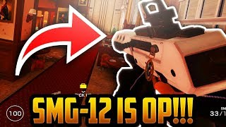 SMG-12 IS OVERPOWERED - RAINBOW SIX SIEGE - SIX INVITATIONAL
