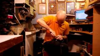 Ремонт обуви. Как поменять набойки. Замена набоек  на шпильку часть1