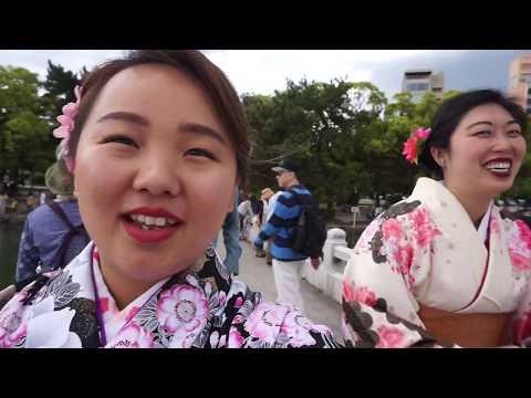 FUKUOKA, JAPAN: DAY TWO || Kimonos & Ohori Park