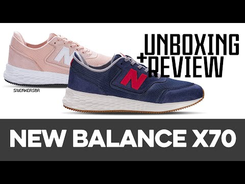 UNBOXING+REVIEW - New Balance X-70