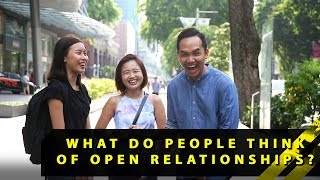 What Do People Think Of Open Relationships? | Word On The Street