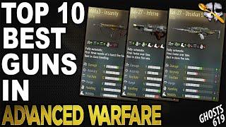 Video Top 10 Best Guns in Advanced Warfare download MP3, 3GP, MP4, WEBM, AVI, FLV Agustus 2018