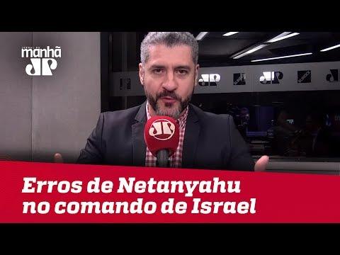 Bruno Garschagen: Margem apertada aponta erros de Netanyahu no comando de Israel