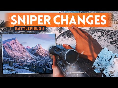 BATTLEFIELD 5 HUGE SNIPING CHANGES - Scout Class Is More Useful! (BF5 Sniper Gameplay)