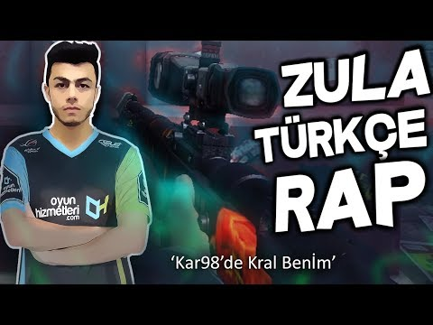 ZULA 2018 TÜRKÇE RAP !! KAR98'DE KRAL BENİM !!