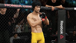 EA UFC (Xbox One) - Bruce Lee vs Jose Aldo Gameplay