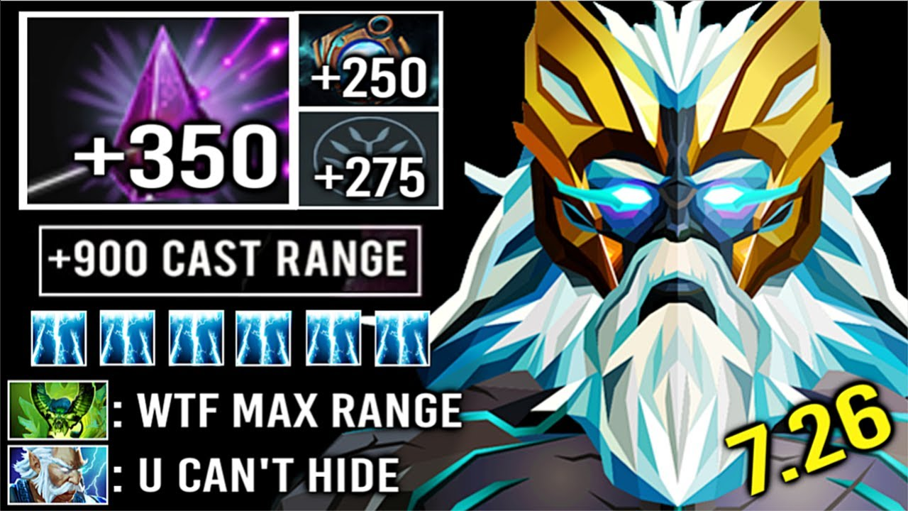 900 Cast Range Seer Stone Zeus Non Stop Skill Spam Crazy Solo Def
