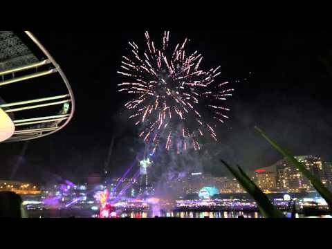 Australia Day Fireworks in Darling Harbour 26 January 2016