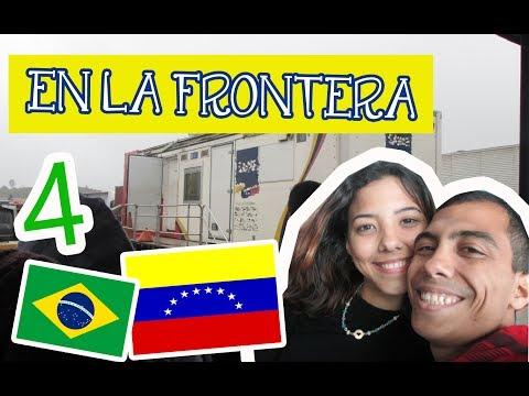 Sellando PASAPORTES en BRASIL 17 de Mayo 2017 - VIAJE POR TIERRA VENEZUELA ARGENTINA