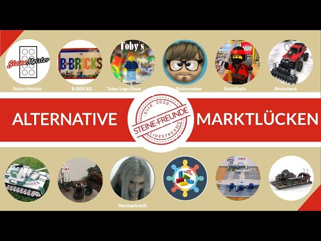 Alternative Marktlücken. Dort wo Lego nichts zu bieten hat. Licht, Militär, Mattel, Noppensteine usw