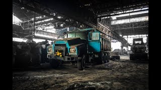 ABANDONED Vehicle Factory From 1900 (HIDING From French POLICE!!)