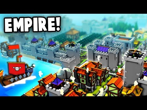 Massive Empire Building!  (Kingdoms and Castles New Update Gameplay)