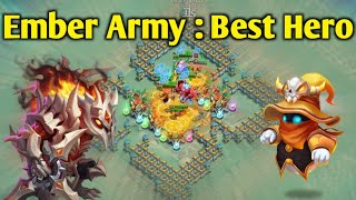 Beserker | Best Hero of Ember Army | Continue Shot 😳😳 | 650 Million(Bad Run) | Castle Clash