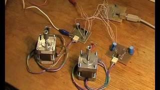 Управление шаговыми двигателями.(, 2009-11-30T10:17:28.000Z)