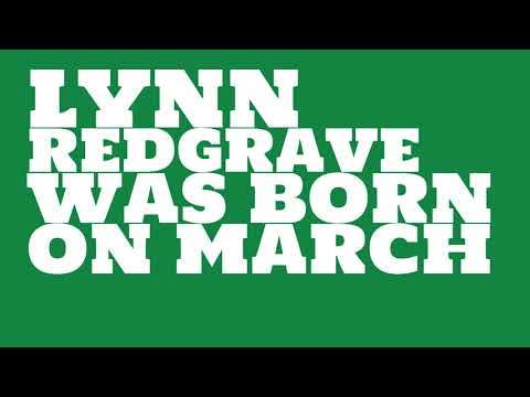 Who does Lynn Redgrave share a birthday with?