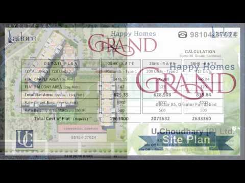 Adore Happy Homes Grand @9810437024 Faridabad  - BOOKING OFFICE