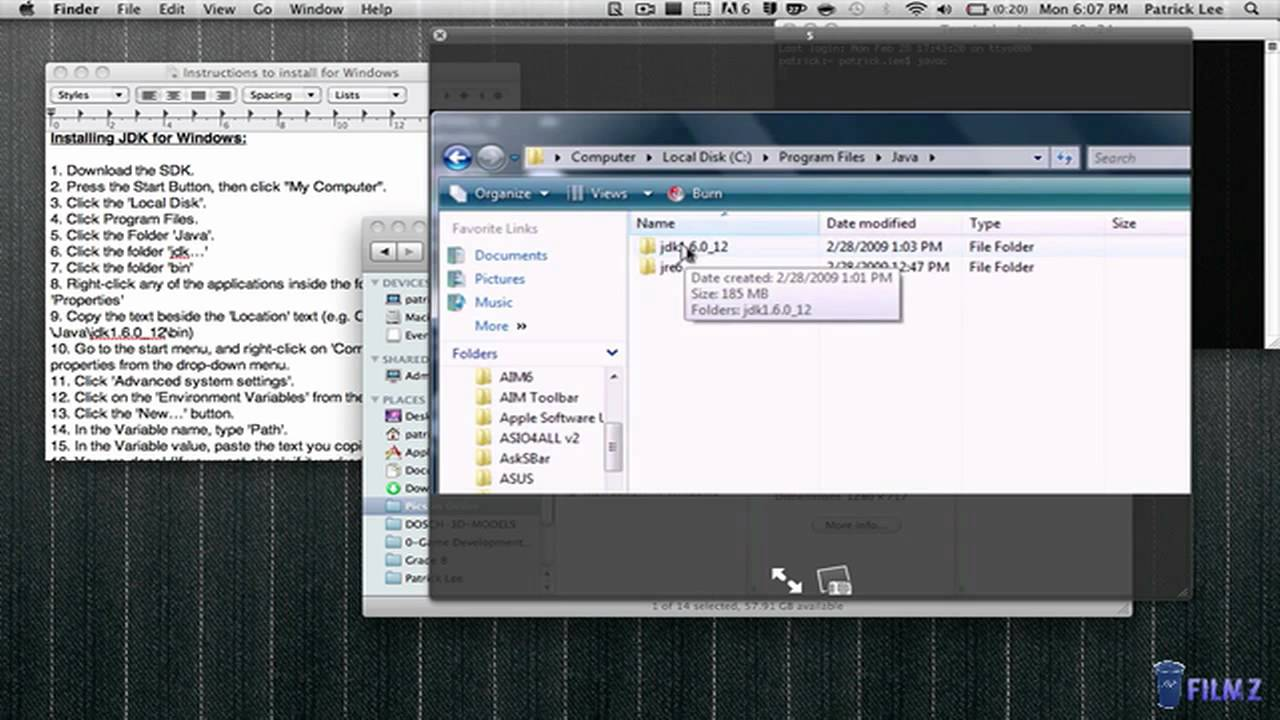 01 java programming tutorial installing the jdk mac windows 01 java programming tutorial installing the jdk mac windows linux youtube baditri Gallery