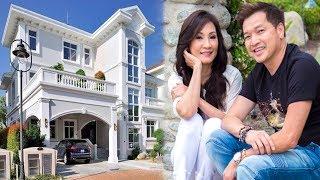 Choáng với biệt thự khủng của vợ chồng Quang Minh - Hồng Đào ở Mỹ - TIN TỨC 24H TV