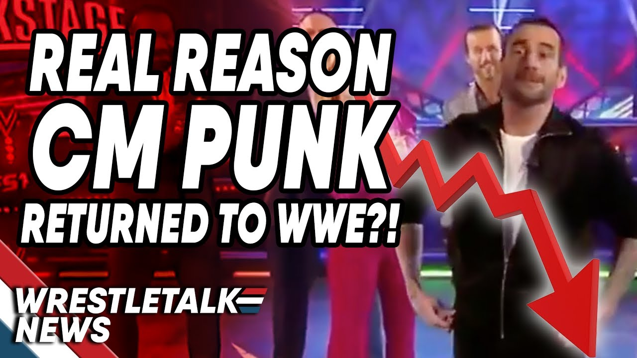 Real Reason CM Punk RETURNED To WWE?! | WrestleTalk News Nov. 2019