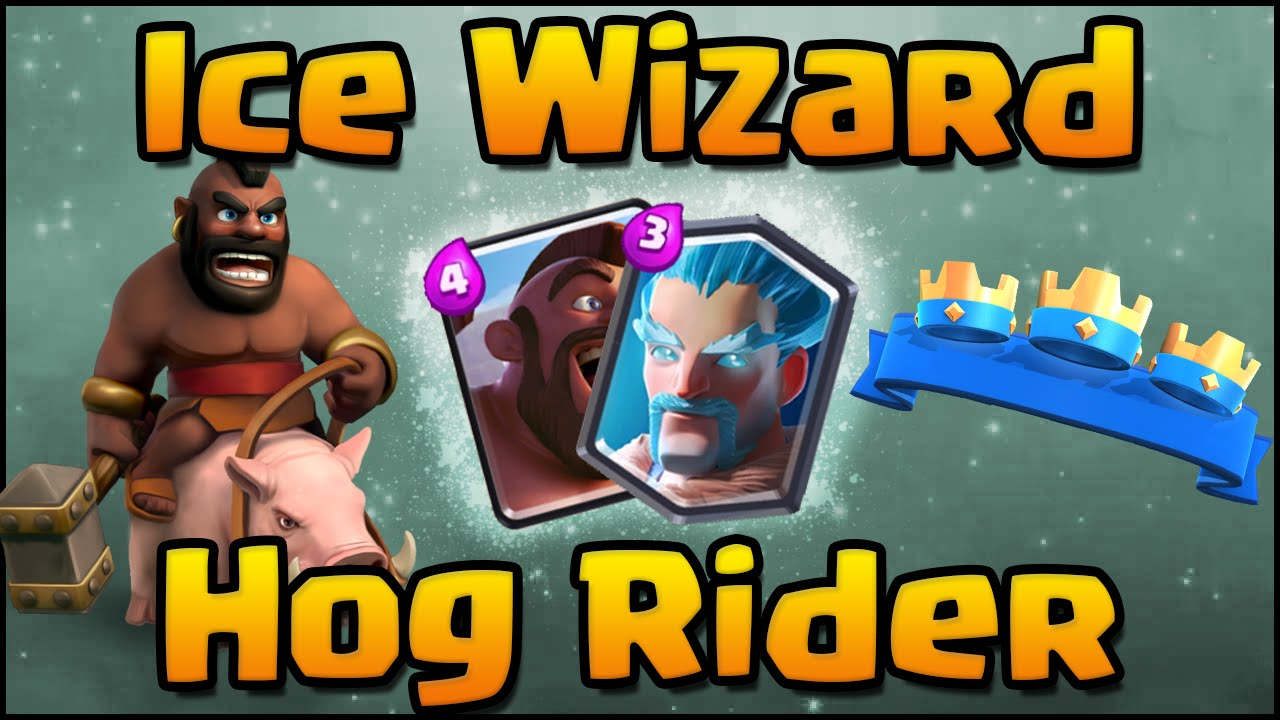 Clash Royale Amazing Ice Wizard Deck And Strategy With