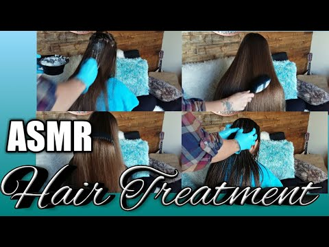 ASMR Real person | Hair Treatment | Pure Coconut Oil | Massage 💆🎧