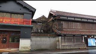 会津若松市・七日町通り、まち歩き。2015/11/26