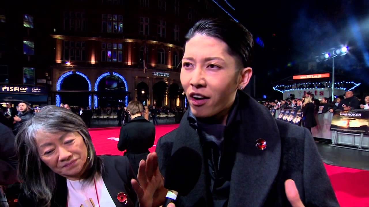 Unbroken Miyavi The Bird London Premiere Movie Interview