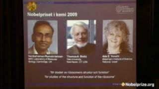 The 2009 Nobel Prize in Chemistry