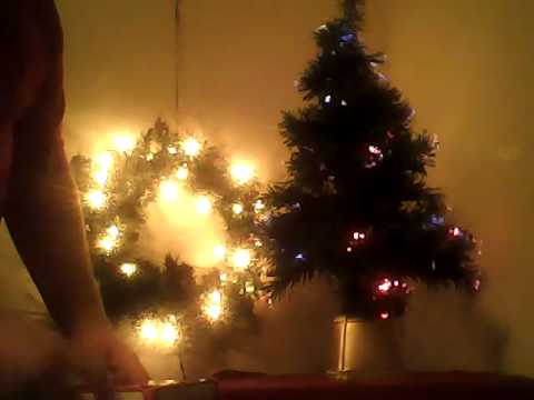 32 fiber optic christmas tree