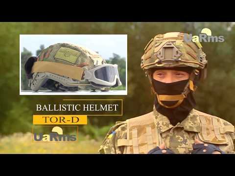 Developing and testing the best Ukrainian ballistic helmets TOR and TOR-D