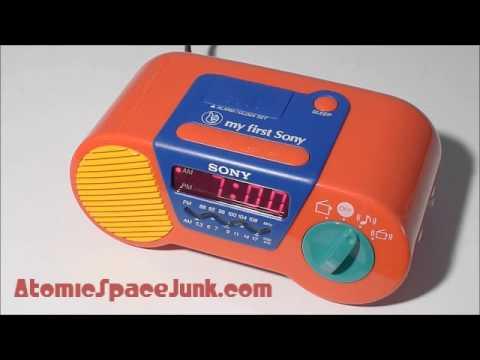 My First Sony Musical Alarm Clock