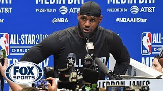 LeBron on Kyrie's apology, Lakers, Kaepernick, D-Wade, Zion comparisons, more | NBA ALL-STAR WEEKEND