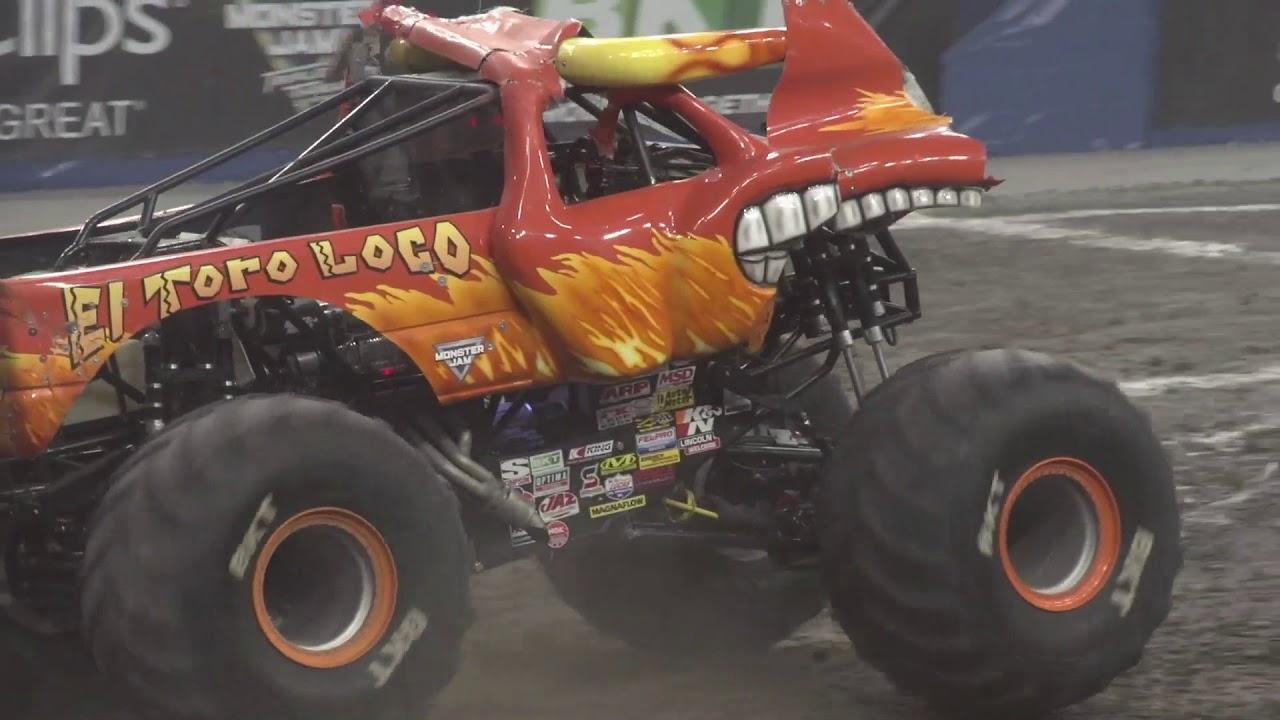 el toro loco monster jam crash wwwmiifotoscom