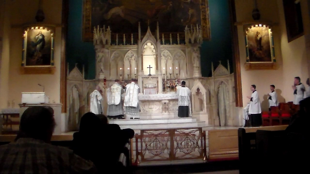 Our Lady of Sorrows Solemn Mass Sept 2015 Holy Innocents NYC Part 1 of 4