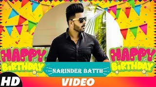 Birthday Wish | Narinder Batth | Video Jukebox | Jassi Gill | Jass Bajwa | Goldy Desi Crew