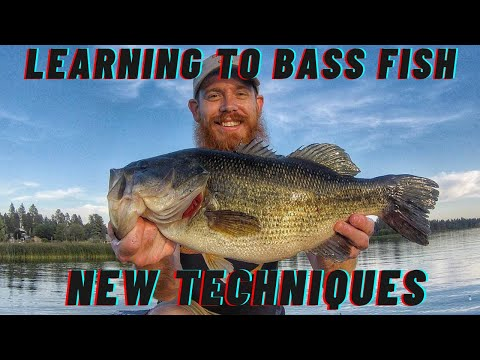 Bass Fishing In Eastern WA - Learning New Techniques