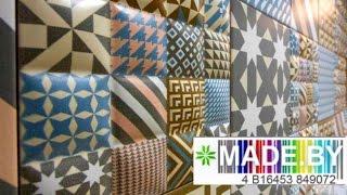 Настенная керамическая плитка. Как это сделано? MADE.BY