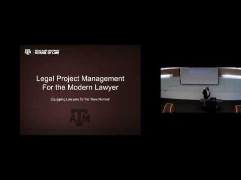 Legal Project Management for the Modern Lawyer: equipping lawyers for the 'New Normal'