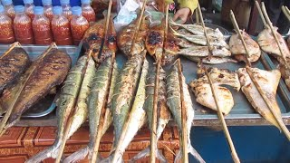 Grilled Seafood At Crab Market
