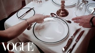 Modern Etiquette: Dining Out with Chloe Malle - Vogue thumbnail