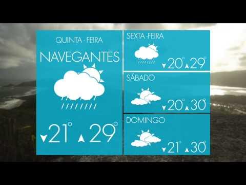 SUL: Previsão do Tempo – Chuva forte em Curitiba
