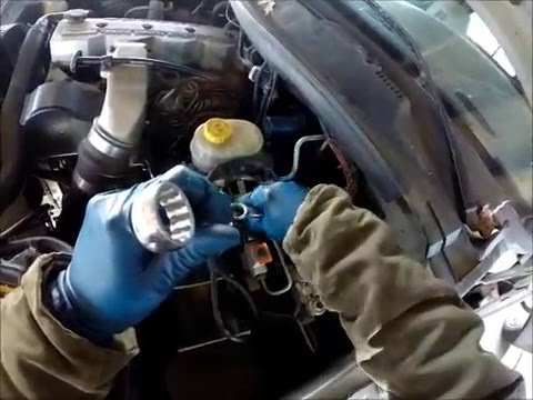 How To Replace Hydro Boost Lines On Cummins Youtube