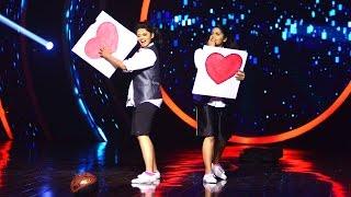 D 4 Dance Reloaded I Renjini & Sneha - Dance with prop round I Mazhavil Manorama